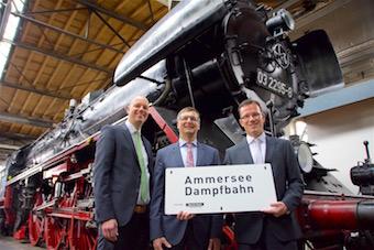 Ammersee Dampfbahn: Sparda-Bank Augsburg on